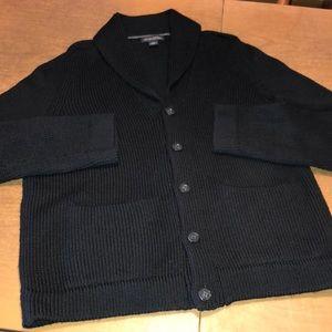 BANANA REPUBLIC Italian Merino Wool Cardigan Sz L